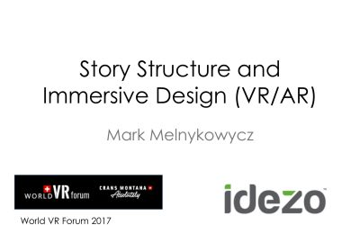 VR Workshop: Story Structure and Immersive Design (VR/AR)